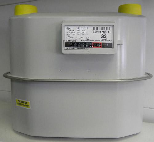 Счетчик газа ВК G16Т