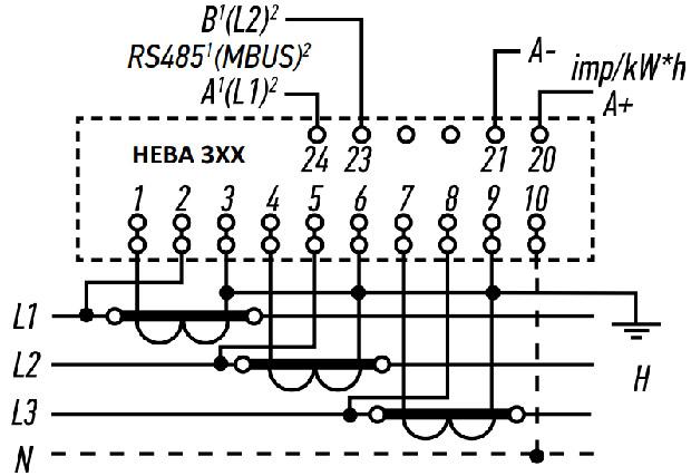через-трансформатор-тока