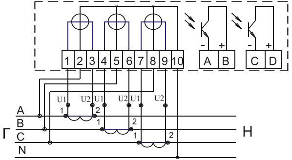 Схема подключение АК1