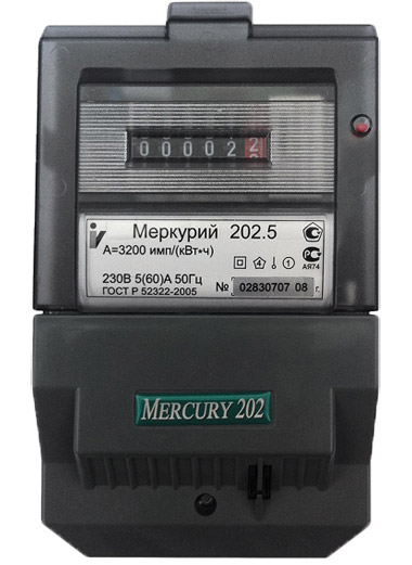меркурий 202