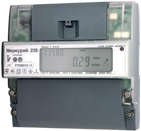 меркурий 236
