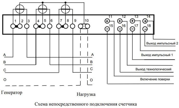 схема-непосредственного-подключения