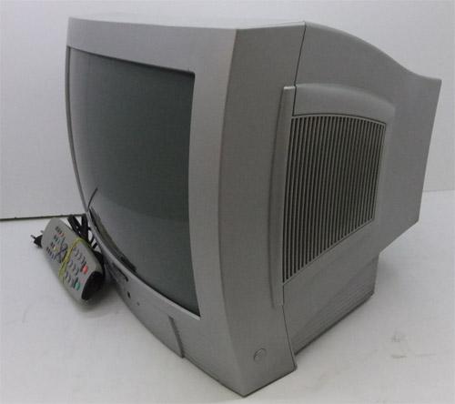 Вид ЭЛТ телевизора