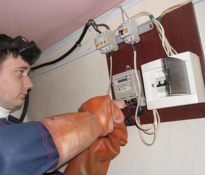 замена-электросчётчика